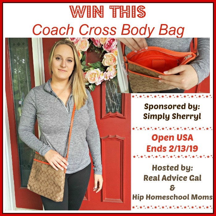 Coach Cross Bag Giveaway