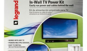 Hide Unsightly Wires with Legrand In-Wall TV Power Kit