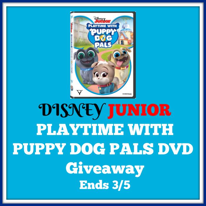 Disney Junior Playtime with Puppy Dog Pals