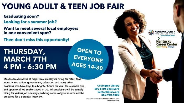 NKY Teen and Young Adult Job Fair