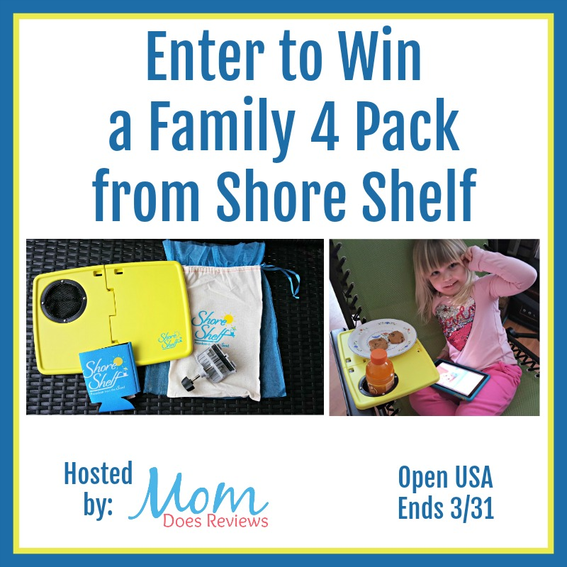 Enter to Win a Family 4 Pack from Shore Shelf