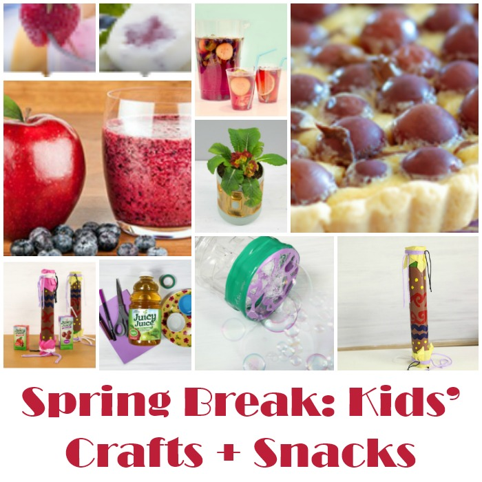 Spring Break: Kids' Crafts + Snacks