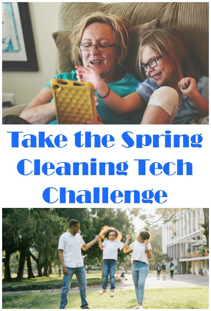 Take the Spring Cleaning Tech Challenge