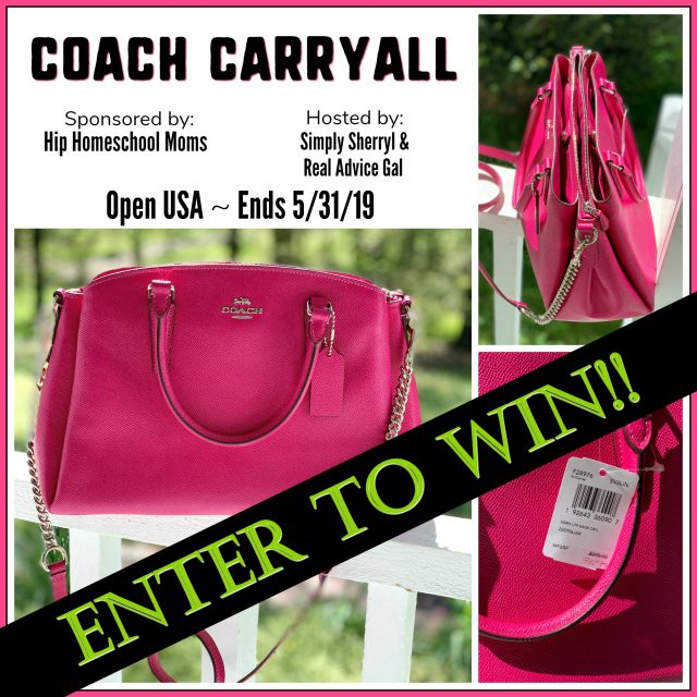 Coach Carry All Bag Giveaway