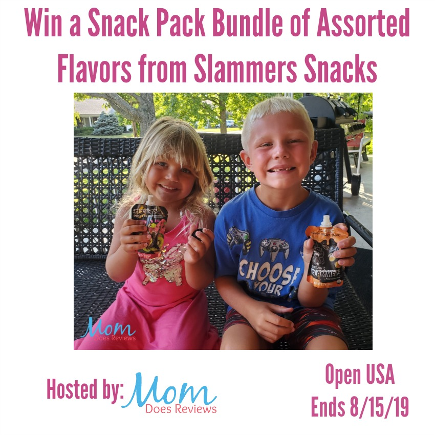 Win a Back to School Slammers Snack Bundle
