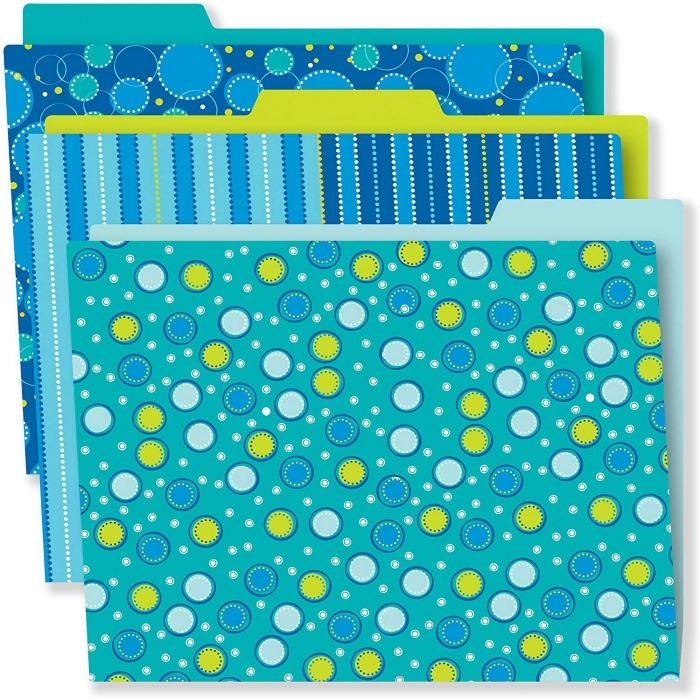 Carson Dellosa Decorative Themed File Folders